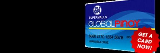 The Global Pinoy Membership Card.