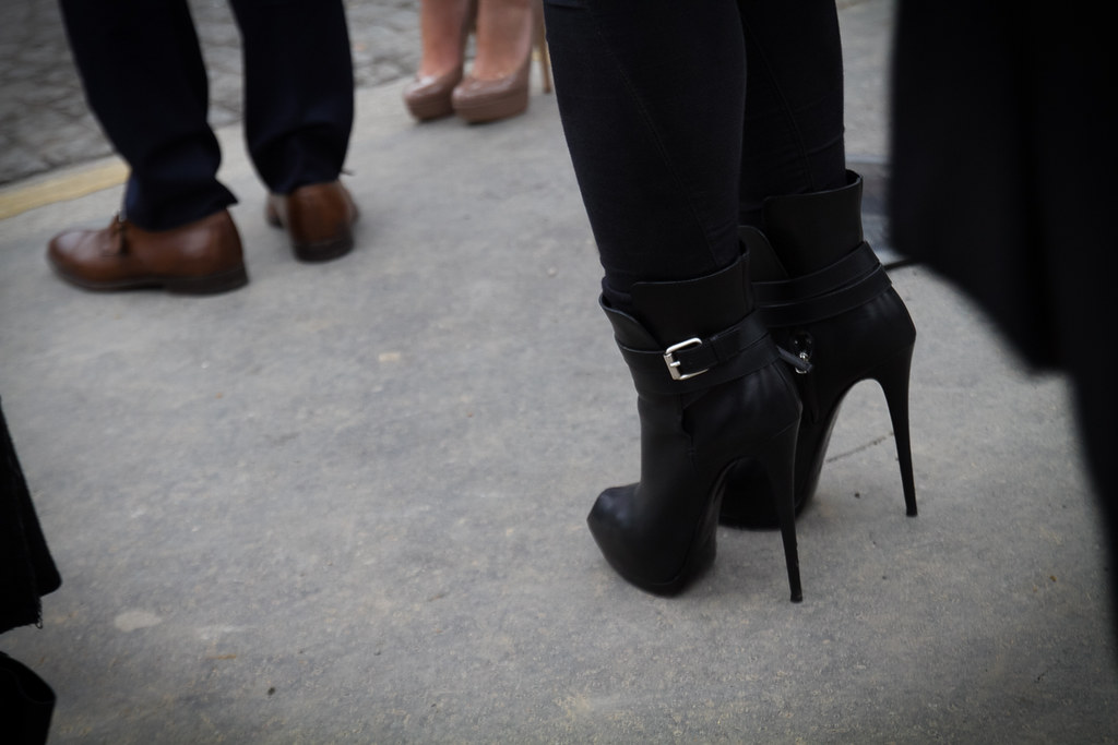 Tuukka13 -  Moods and People Outside Dior Womens FW 13 RTW Show - Paris Fashion Week -2