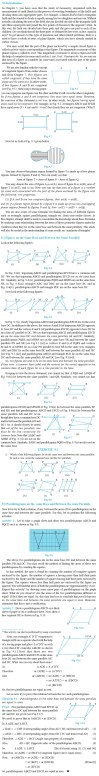 NCERT Class IX Maths Chapter 9 Areas of Parallelograms