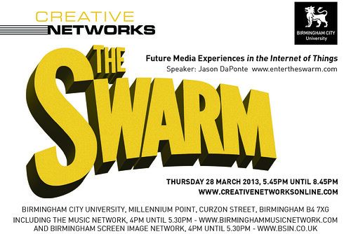 Creative Networks Thursday 28th March 2013