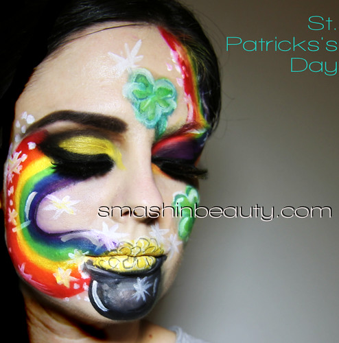St. Patrick's Day Makeup Face Painting Face Paint
