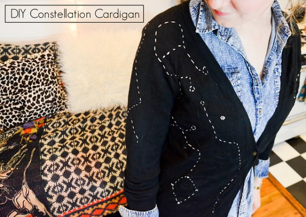 DIY Constellation Sweater
