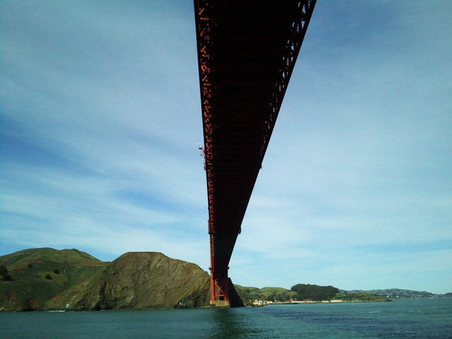 Beneath The Golden Gate Bridge
