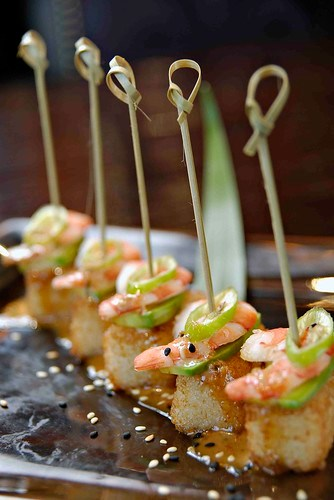 Crunchy Rice Shrimp Jalapeno