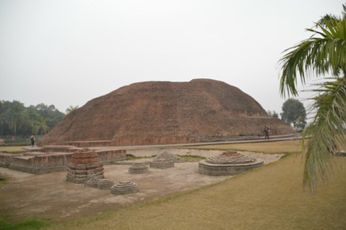 Ramabhar Stupa , the Cremation site of Lord Buddha, Kushinagar