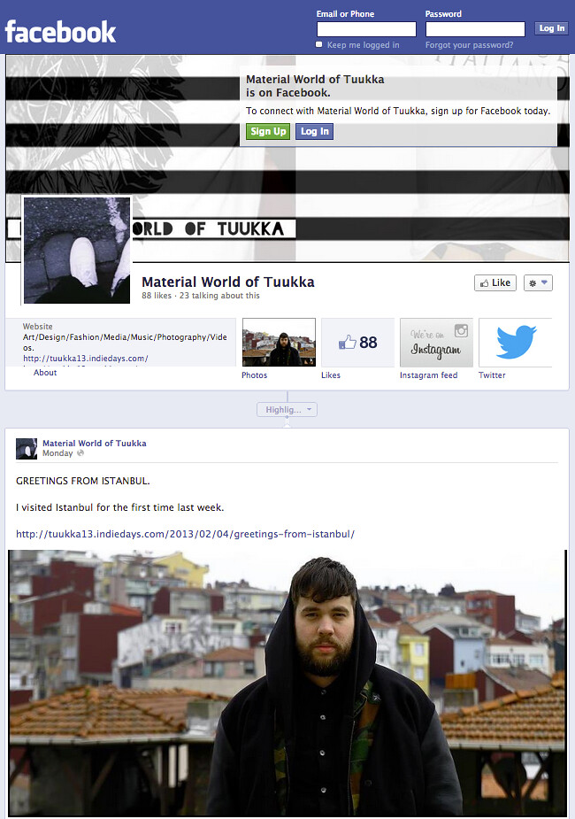 WWW.FACEBOOK.COM/TUUKKA13