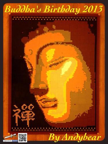 Lego Buddha 01