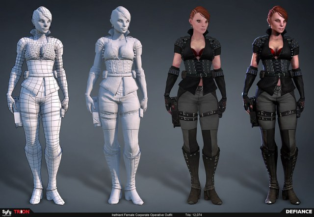 Defiance Character Art created by Trion Worlds