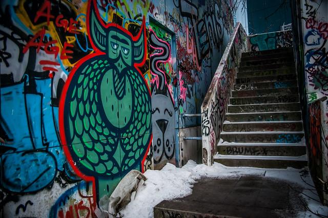 Teufelsberg Berlin Graffiti-1
