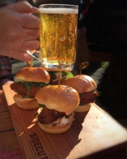 Beer and Burgers at Sidecut BBQ (The Four Seasons, Whistler)