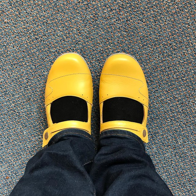 I have a suspicion that these will not be the last things I buy because my daughter suggested it #notsorry #yellow