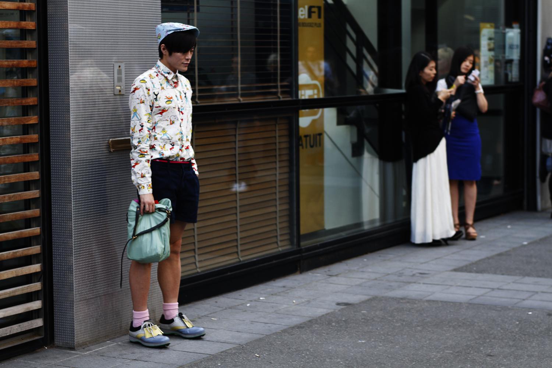 2012_06 Tuukka Laurila Paris Mens Fashion Week Street Style - From Head to Toes in Prada SS 12 2