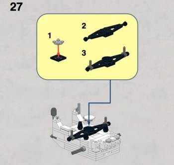 LEGO MSL Rover instructions