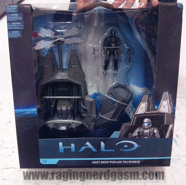 Halo 4 ODST Drop POD with The Rookie  Mc Farlane Toys01