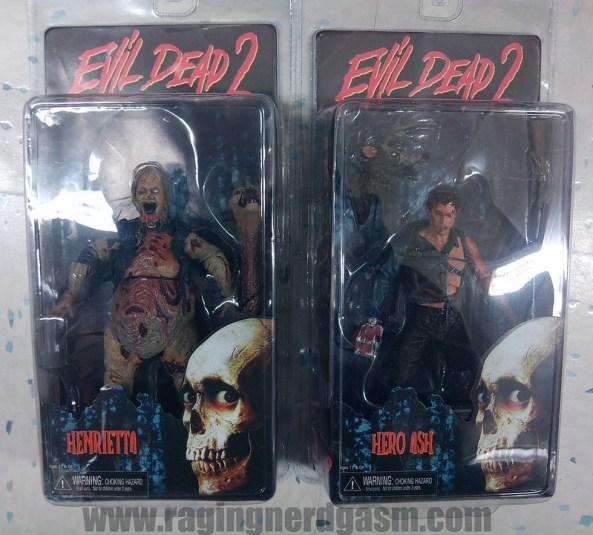Evil Dead 2 Action Figures NECA 01