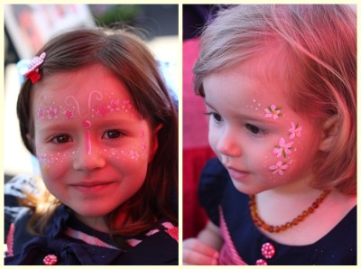 A spot of face painting