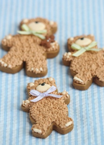 teddy bear cookies | Flickr - Photo Sharing!