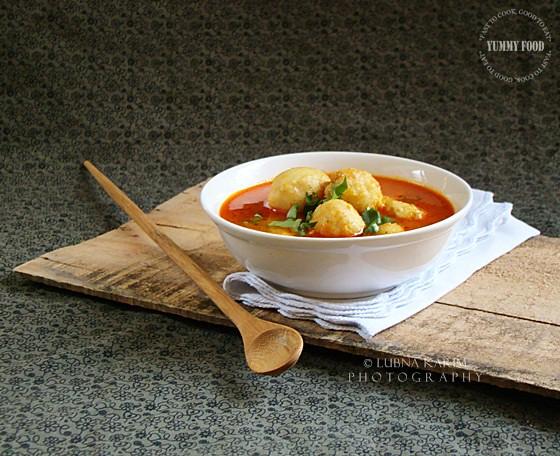 DArvi Ka Khatta Salan/Taro Root in Tangy Gravy