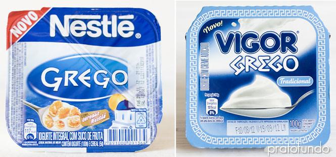 Iogurte Grego: Comparativo