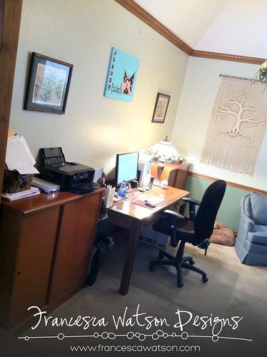 Clean Office 1 by Francesca Watson Designs