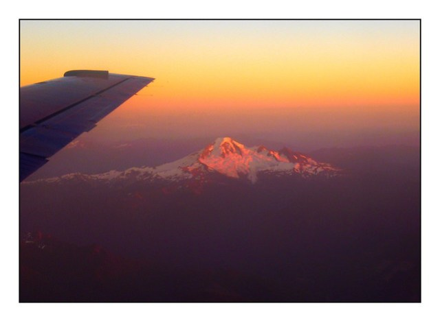 (279/366) Sunset on Mount Baker
