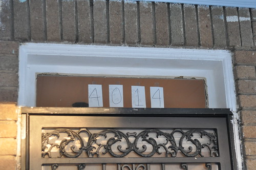 Old fancy transom numbers
