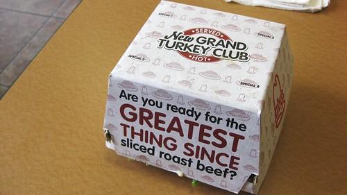 turkey club box
