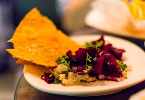 Grain Bar kingfish tartare