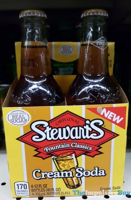 Stewart's Fountain Classics Cream Soda Made with Real Sugar