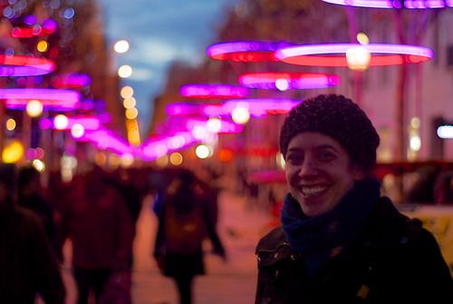 Steph at Champs-Élysées
