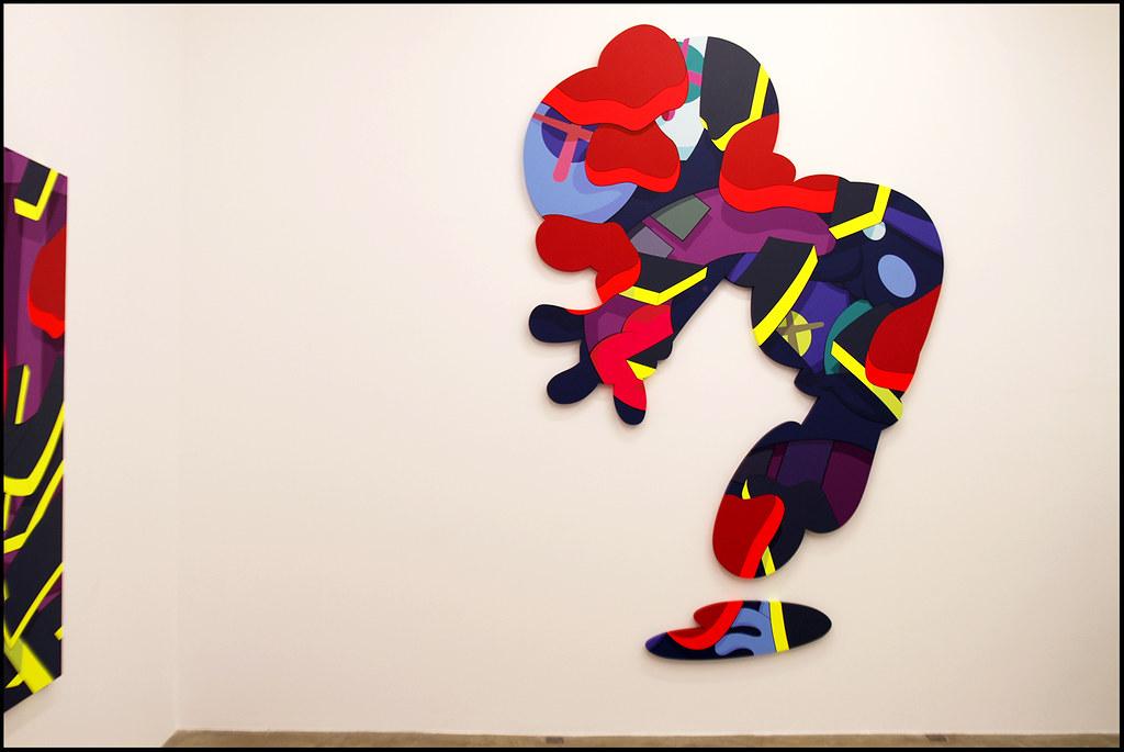 "Tuukka13 - KAWS Exhibition ""Imaginary Friends"" at Galerie Perrotin, Paris - 12.2012 - 10"