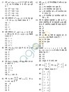 NDA & NA Exam (I) 2012 Question Paper   Mathematics