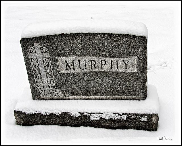 Murphy Headstone in Calvary