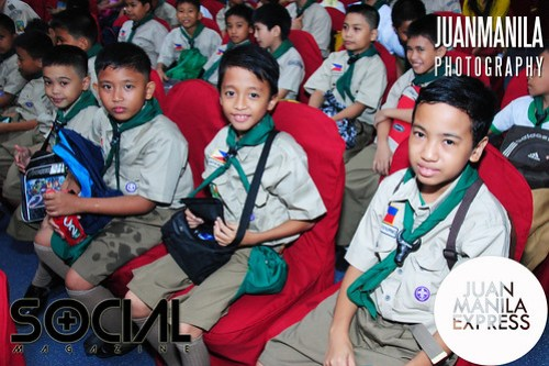 Boy Scouts of the Philippines joins the fun.