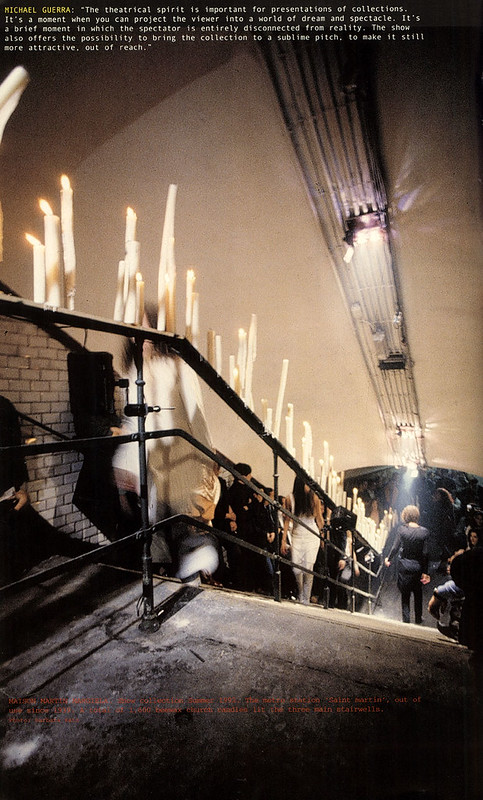 INSPIRATION: NOTES ABOUT INTERIOR DESIGN - spring–summer 1992, martin margiela photography barbara katz belgian fashion design