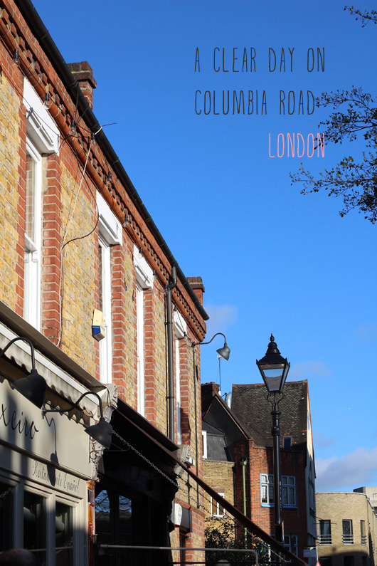 Holly Shops: Columbia Road in London (+ some blogging advice)