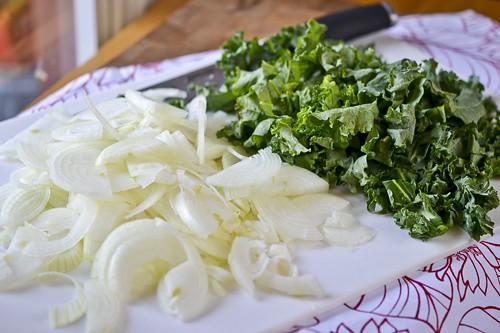 Wild Rice Gratin with Kale, Caramelized Onions & Baby Swiss 14