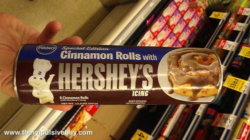 Pillsbury Special Edition Cinnamon Rolls with Hershey's Icing