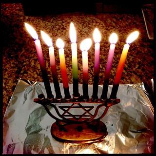 Chanukah 7 Candles