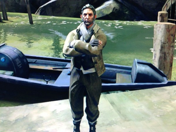 Dishonored boat man
