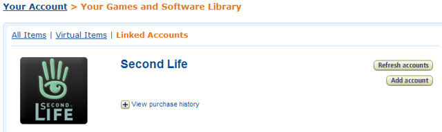 Second Life Amazon.com Promotion