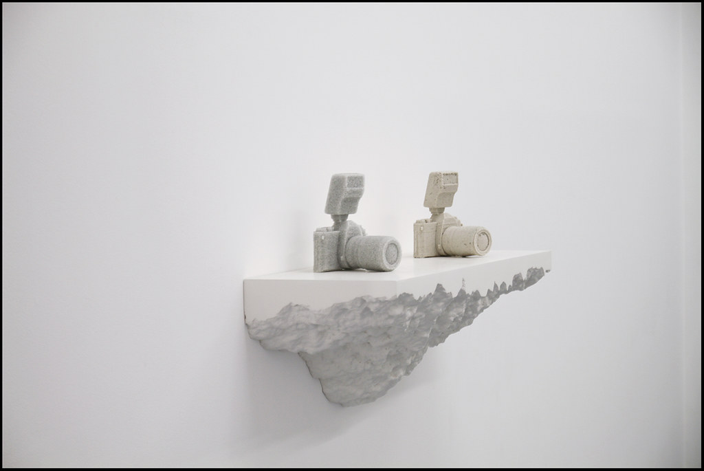 "Tuukka13 - Daniel Arsham Exhibition ""Storm"" at Galerie Perrotin, Paris - 12.2012 - 6"