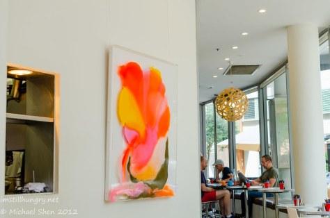 Lumiere Cafe - interior