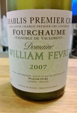 Chablis 'Vignoble de Vaulorent' 2007, Fevre