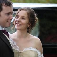Beth & Patrick's homemade English wedding