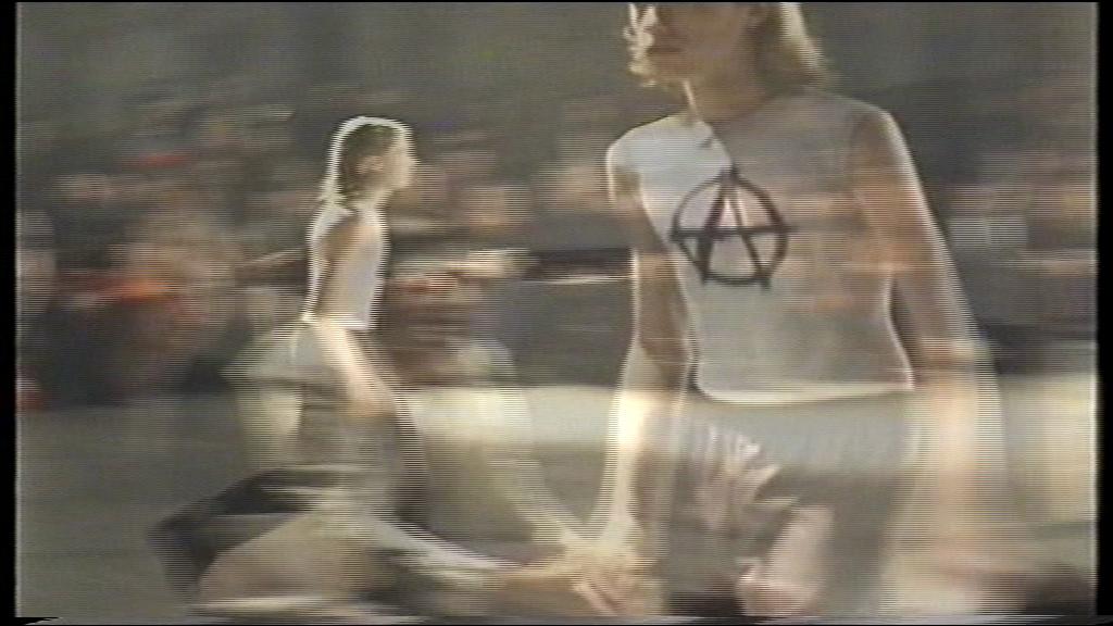Raf Simons- Black Palms (Spring:Summer 1998)  Still from Raf Simons' Spring:Summer 1998 'Black Palms' collection video.