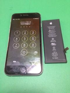 167_iPhone6のバッテリー交換