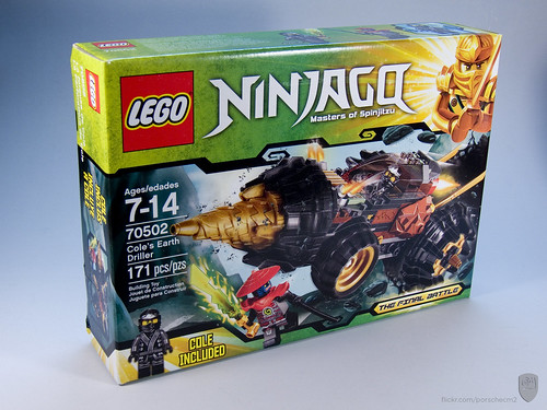 Ninjago: 70502 Cole's Earth Driller [Review] | The Brothers Brick ...