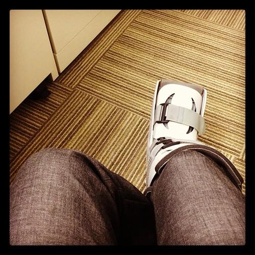 Still rocking the boot.