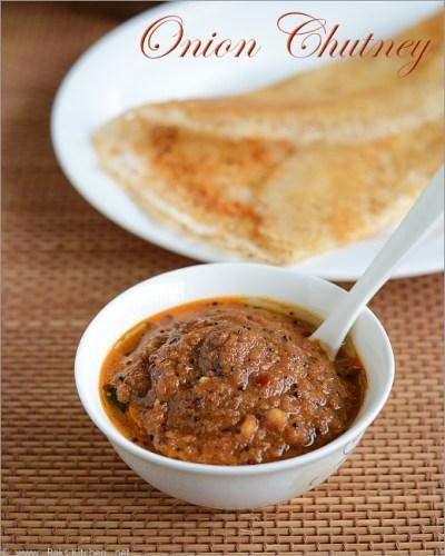 Onion chutney recipe | How to make Vengaya chutney - Raks Kitchen